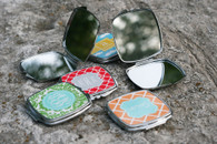 Compact Mirror - Personalized Opened