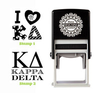 Greek Sorority Stamp Set - ΚΔ Kappa Delta