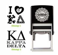 Greek Sorority Stamp Set - ΚΔ Kappa Delta