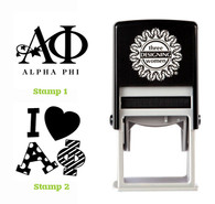 Greek Sorority Stamp Set - ΑΦ Alpha Phi