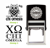 Greek Sorority Stamp Set - ΧΩ Chi Omega