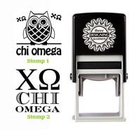 Greek Sorority Stamp Set - ΧΩ Chi Omega