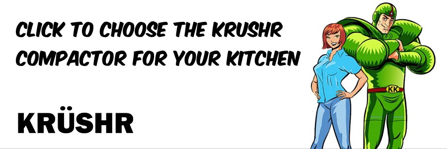 Krushr kitchen trash compactors