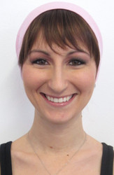 Bangs on a Headband - Ginger Brown
