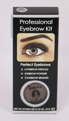 GS Eyebrow Kit - Dark Brown