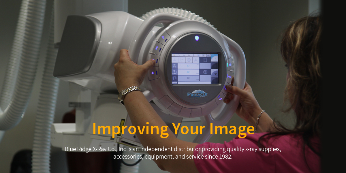 Radiological Technician using Blue Ridge X-Ray's Pinnacle OTC - Improving Your Image