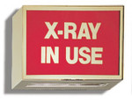 Illuminated Sign: X-Ray In Use