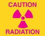 Caution X-Ray Sign
