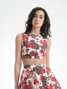 Ana Top in Aiko Floral
