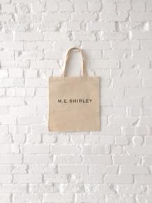 M.E. Shirley Small Tote