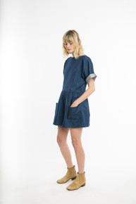 Wellsley Dress Denim