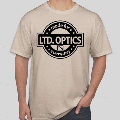 Ltd. Optics Crest T-Shirt - Sand