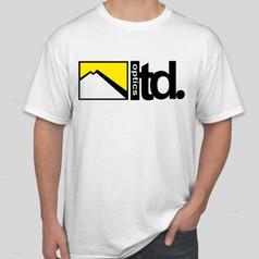 Ltd. Optics Classic Logo Tee - White