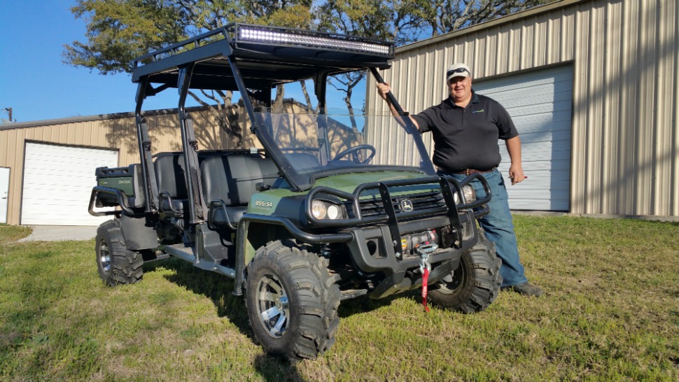 John Deere Gator Lights : Customer gallery