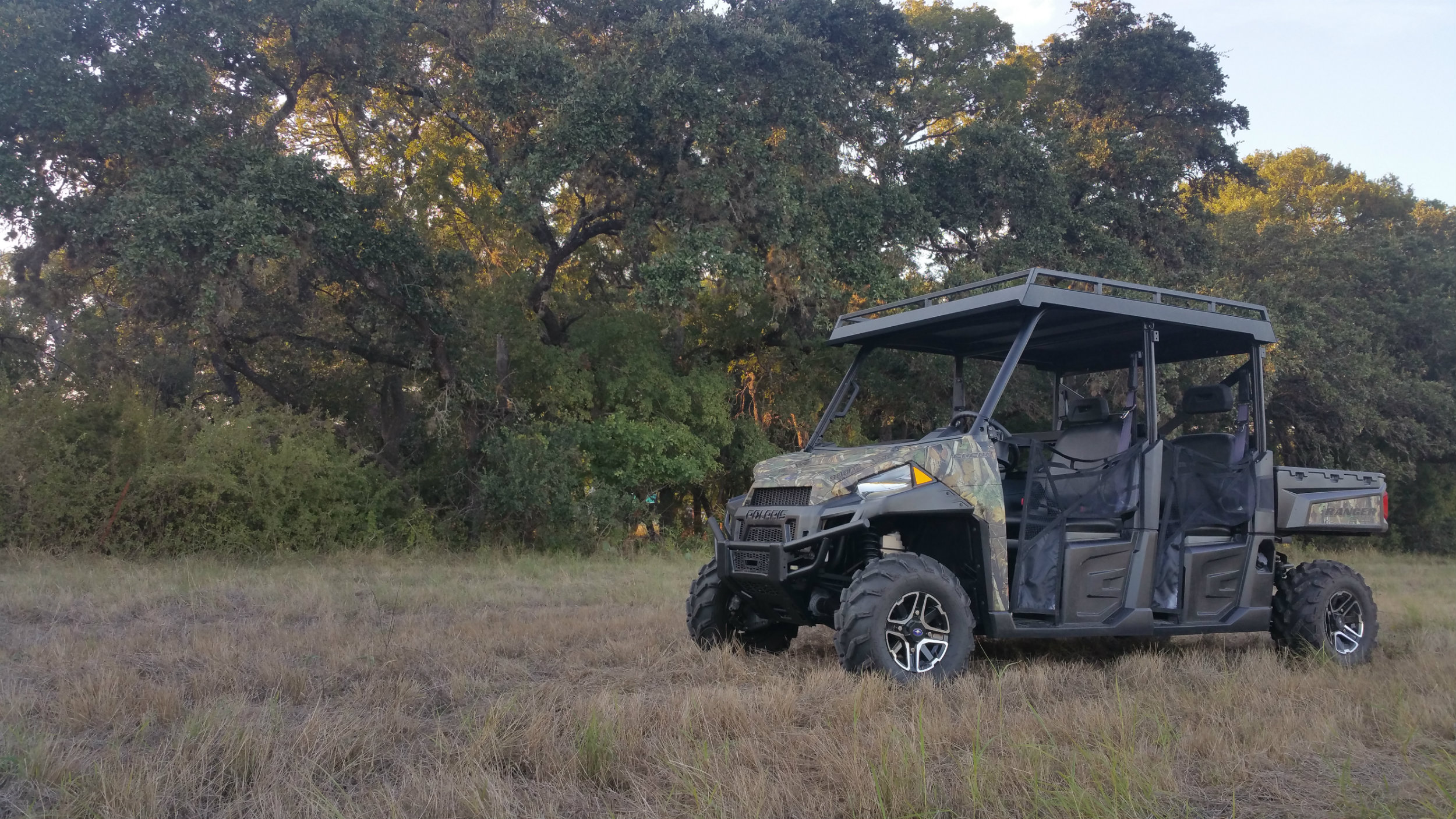 Polaris Ranger 900 Metal Roof Crew Steel Top With Rack