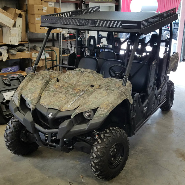 Yamaha Viking 6 Iv One Piece Metal Roof Texas Outdoors