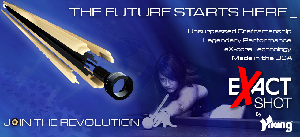 The future starts here with the eXact Shot shaft. Join the Revolution!
