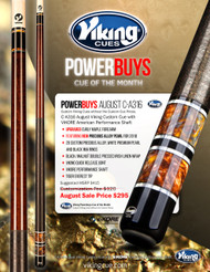 Viking PowerBuys Cue of the Month C-A316 for August 2017