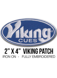"2"" x 4"" Viking Iron-On Patch"