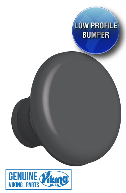 "The Viking ""stay put"" threaded rubber bumper protects and has a minimalist profile."