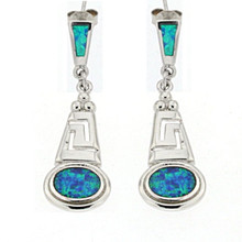Opal and Silver 925 earings OE5345