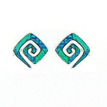 Opal and Silver 925 earings OE5329