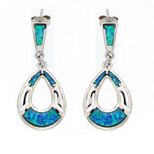 Opal and Silver 925 earings OE5352