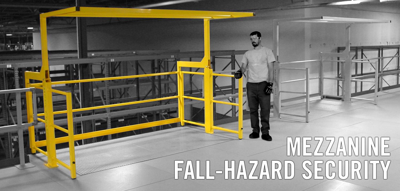 Safety Rails For Mezzanine : Mezzanine gates safety