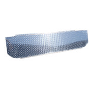 """MBRP 1999-2010 Ford F-250/350/450 Checker Plate Cover to Conceal """"T"""" Pipe in Bed"""