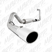 """MBRP 2003-2005 Ford Excursion 6.0L 4"""" Turbo Back, Single Side Exhaust System"""