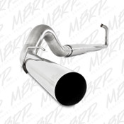 "MBRP 2003-2007 Ford Powerstroke 6.0L 5"" Turbo Back Stainless Exhaust System"