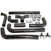 MBRP 2003-2007 Ford Powerstroke 6.0L Turbo Back Dual SMOKERS SS Stack Kit