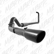 "MBRP 2003-2007 Ford Powerstroke 6.0L 4"" Turbo Back Off-Road Black Exhaust"