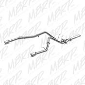 MBRP 2014 Dodge Ram 1500 3.0L Ecodiesel Filter Back, Dual Split Rear, AL