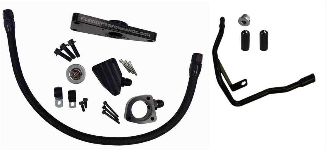 fleece cummins coolant bypass kit  2006-2007 auto trans
