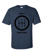 Shift Happens Short sleeve t-shirt