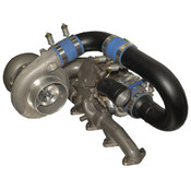 BD Diesel R700 Tow & Track Turbo Kit w/FMW Billet Wheel on Sec - Dodge 1994-1998 12vlv man
