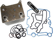 Ford 6.0 Powerstroke 2003-2007 New Ford Oil Cooler Kit with Gaskets and Screen