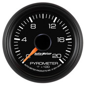 Autometer 2-1/16in Pyrometer Kit, 0-2000 FSE Chevy Factory Match