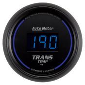 Autometer 2-1/16 In. Trans Temp, 0- 340`F, Digital, Black