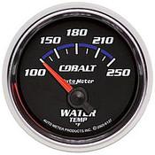 Autometer Cobalt Water Temp, -100 250`F, Elec, 2-1/16In.