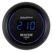 Autometer 2-1/16 In. Water Temp, 0- 340`F, Digital, Black