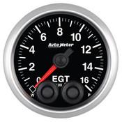 Autometer 2-1/16in Pyrometer/EGT 0-1600, ELITE