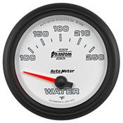 Autometer 2-5/8in WATER TEMP, 100- 250`F, SSE PHANTOM II