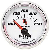 Autometer C2 Water Temp, -100 250`F, Elec, 2-1/16In.