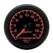 Autometer 2-1/16 In. Pyrometer Kit, 0-2000`F, Full Swp Elec