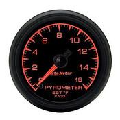 Autometer 2-1/16 In. Pyrometer Kit, 0-1600`F, Full Swp Elec.