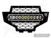 Rigid Lights  Polaris RZR - 2012 Grill Kit - 10in SR-Series