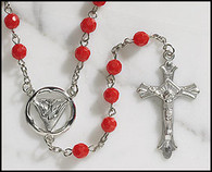Rosary - Red -Confirmation