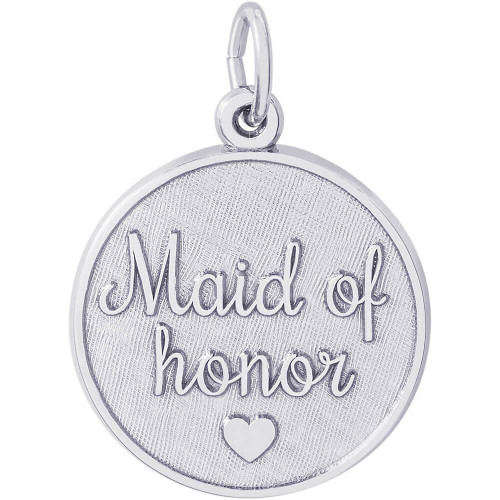 "Maid of Honor ""Rembrandt"" Charm"